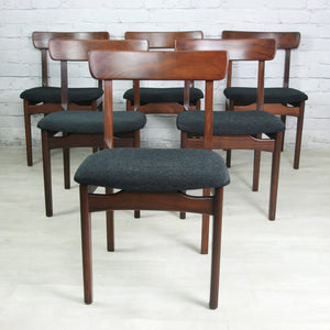Six 1960s Younger Aromosia Dining Chairs