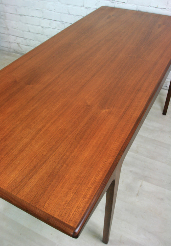 vintage 1960s younger fonseca dining table mustard vintage