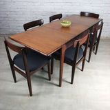 Vintage Younger 1960s Fonseca Extending Dining Table