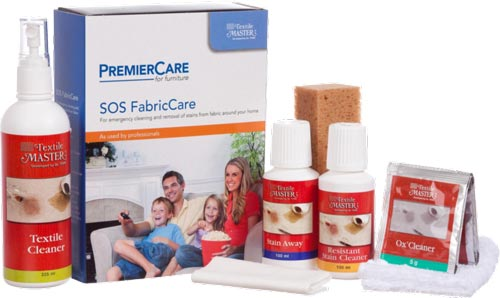 fabric cleaning kit