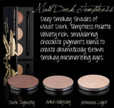 Maat Dark Temptress Shadow Palette - Natural eye shadow for sensitive skin