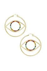 'Rainbow Eye' Earrings