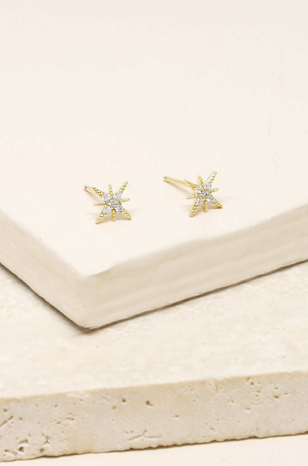 Crystal 'Interstellar' Earring Studs