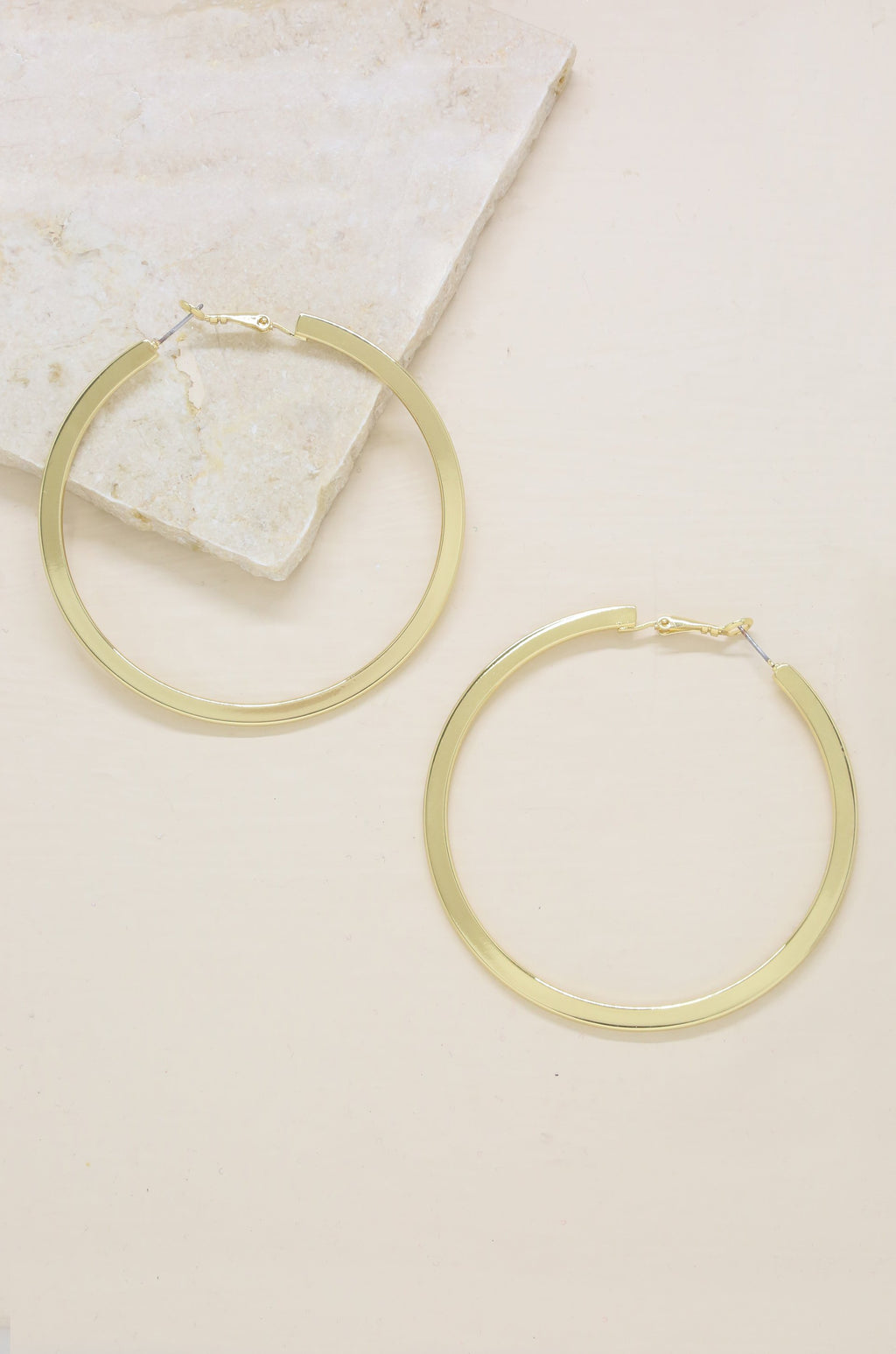 'Calypso Hoops' 18kt Gold Plated Earrings