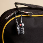 2 Pack TSA Approved Cable Luggage Lock to Secure & Protect by Travel Pact
