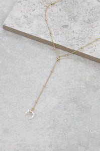 'Ride the Wave' Lariat Necklace