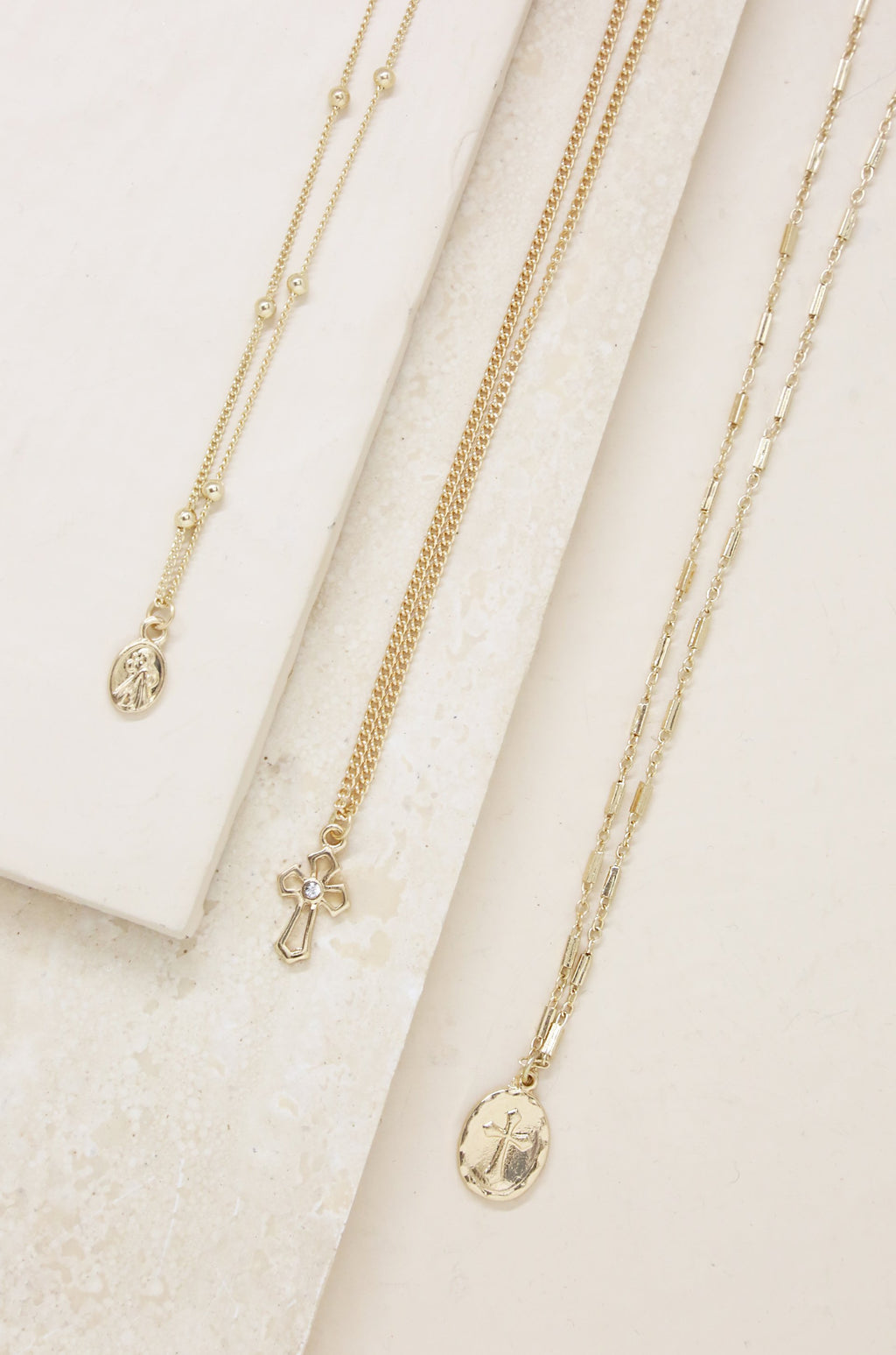 3pc 'Let's Go' Layers Necklace