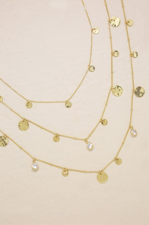 3pc 'All In' Layered 18kt Gold Plated Necklaces