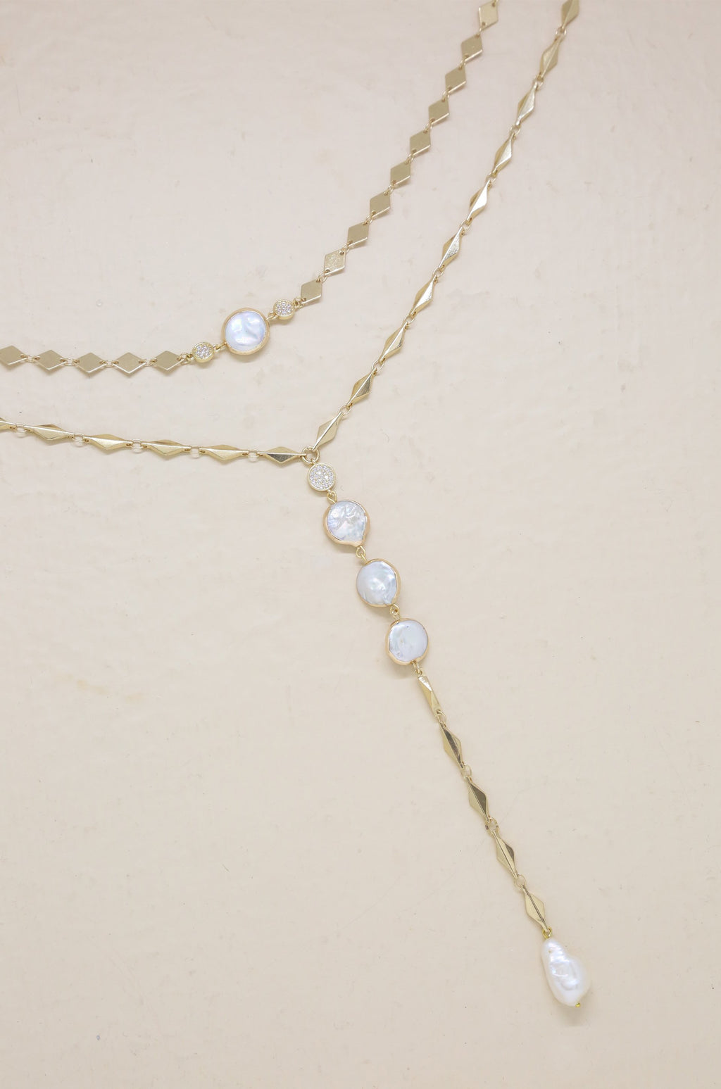2pc 'Summer Dreamin' Freshwater Pearl Necklace