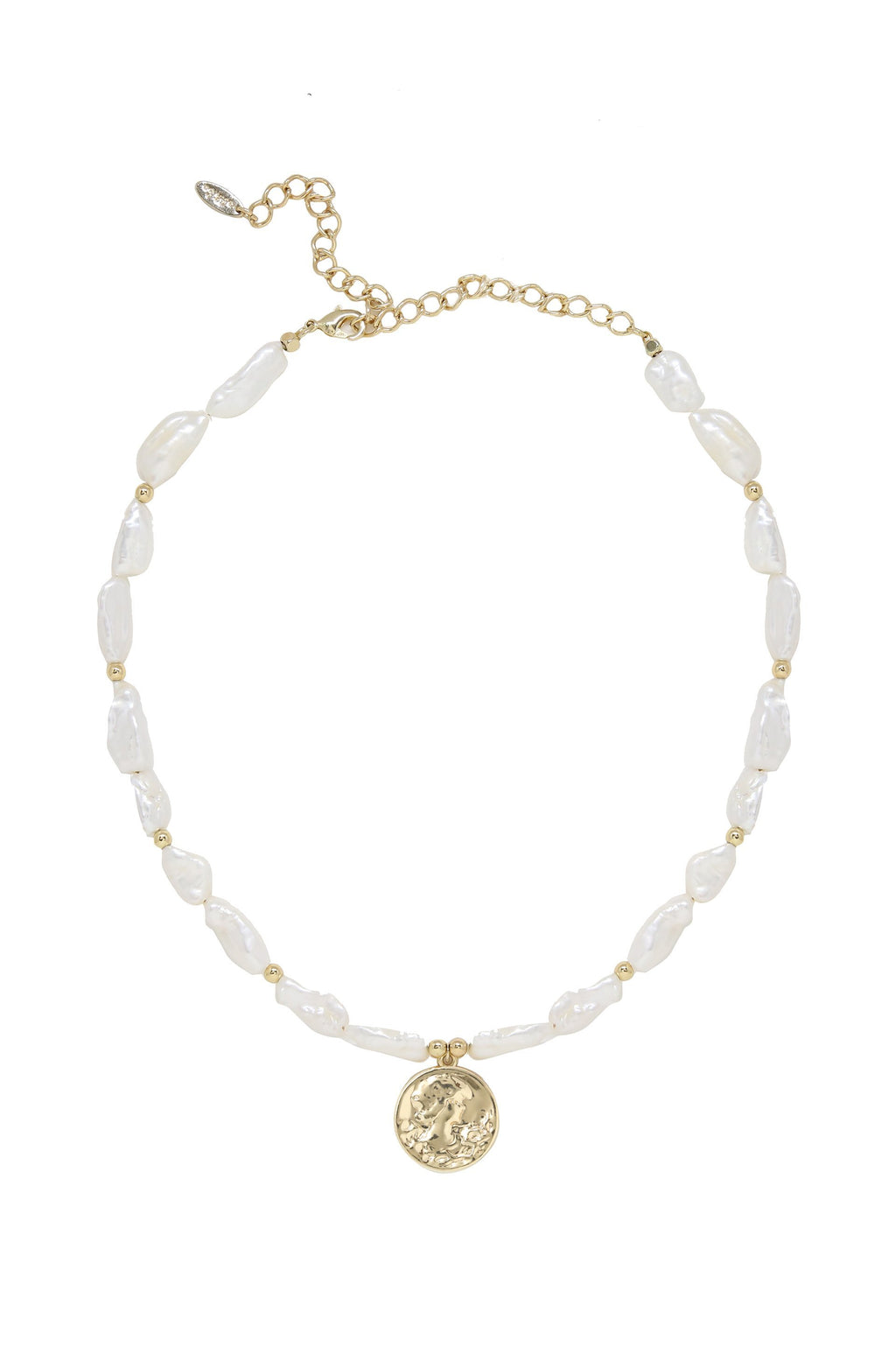 'Paloma Pearl' Coin Necklace
