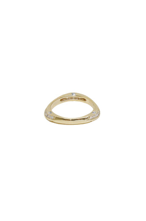 'Star Dusted' Gold Ring