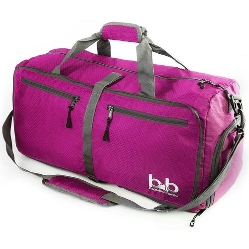 60L Medium Duffle Bag w. Pockets For Gym or Travel by B&B - Travel Pact
