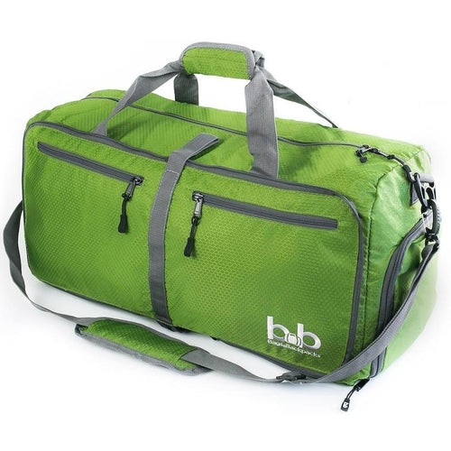 B&B 60L Medium Collapsible Duffle Bag with Pockets