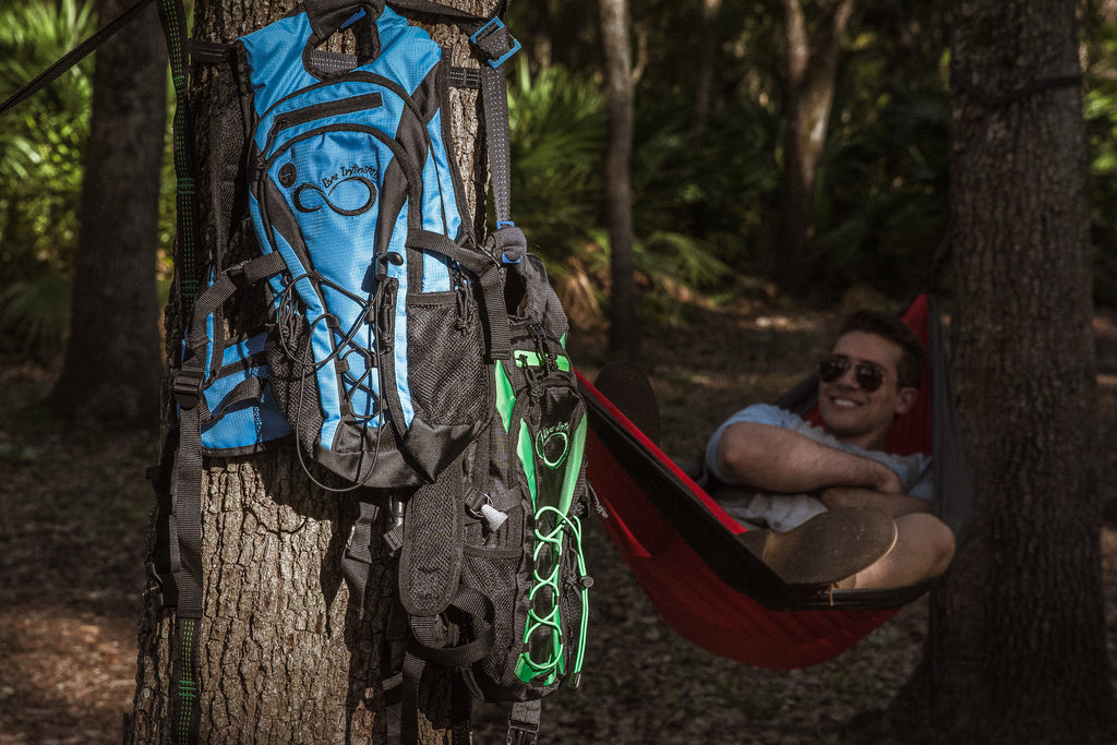 Simple Set Up Gear Hanging Pack Strap