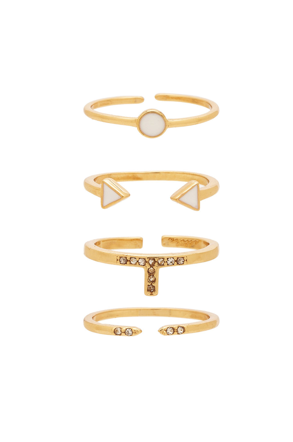 Set of 4 'Last Lover' Ring Set