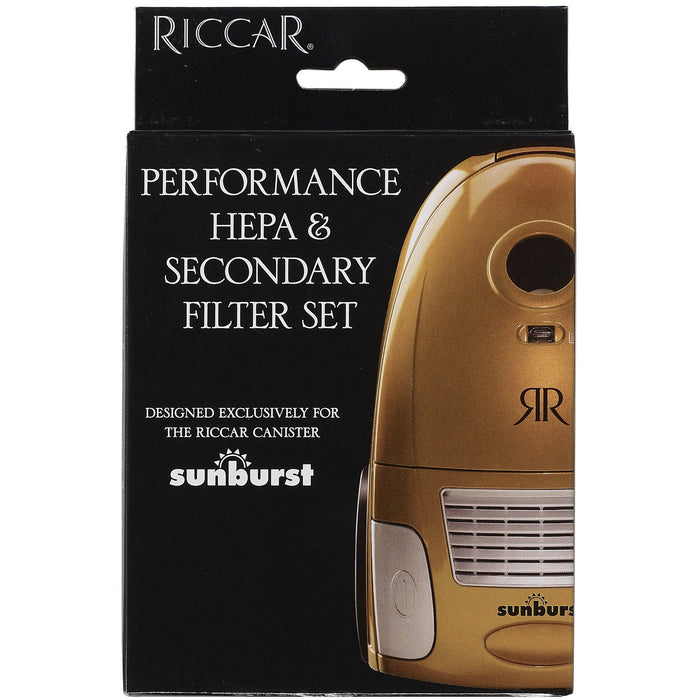 Riccar Sunburst RF14 HEPA & Secondary Filter Set