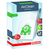 Miele U AirClean 3D Efficiency Vacuum Bags