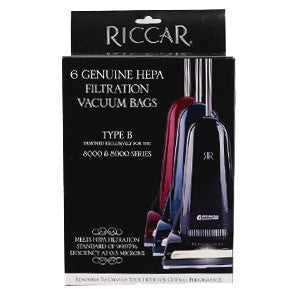 Riccar Type: B Genuine Filtration HEPA Bags For 8900 Series
