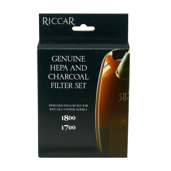 Riccar Rf17 Hepa Filter Kit For Immaculate Impeccable 1800 Amp 1700 Irby
