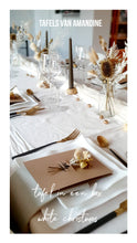 Afbeelding in Gallery-weergave laden, Tafel in box WHITE CHRISTMAS