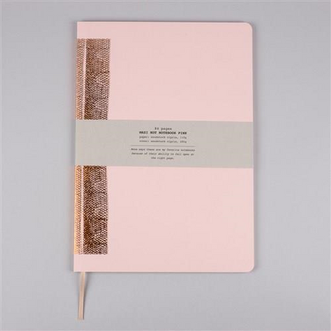 MAXI HOT NOTEBOOK PINK