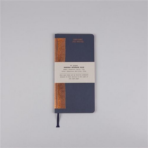 HANDBAG NOTEBOOK BLUE