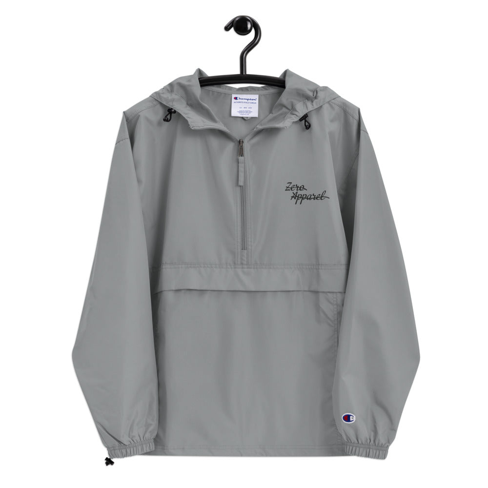 Gold & Gray Champion Packable Jacket
