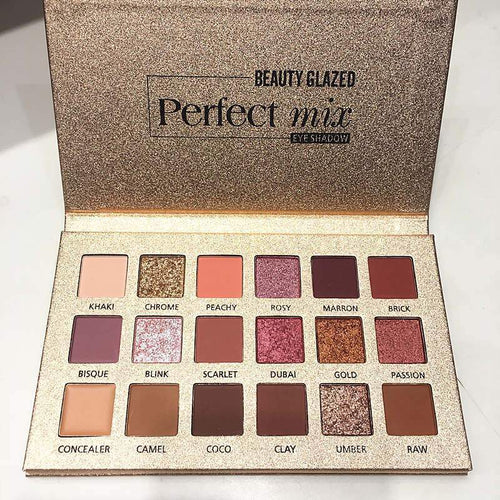 18 Color Nude Shining Eyeshadow Palette