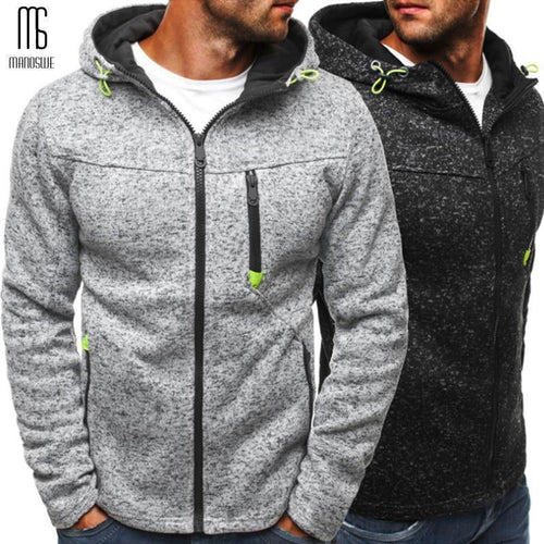 Men Sports Casual Wear Zipper