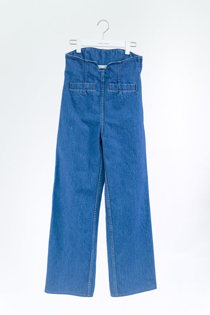 High Waist Denim (bleach)