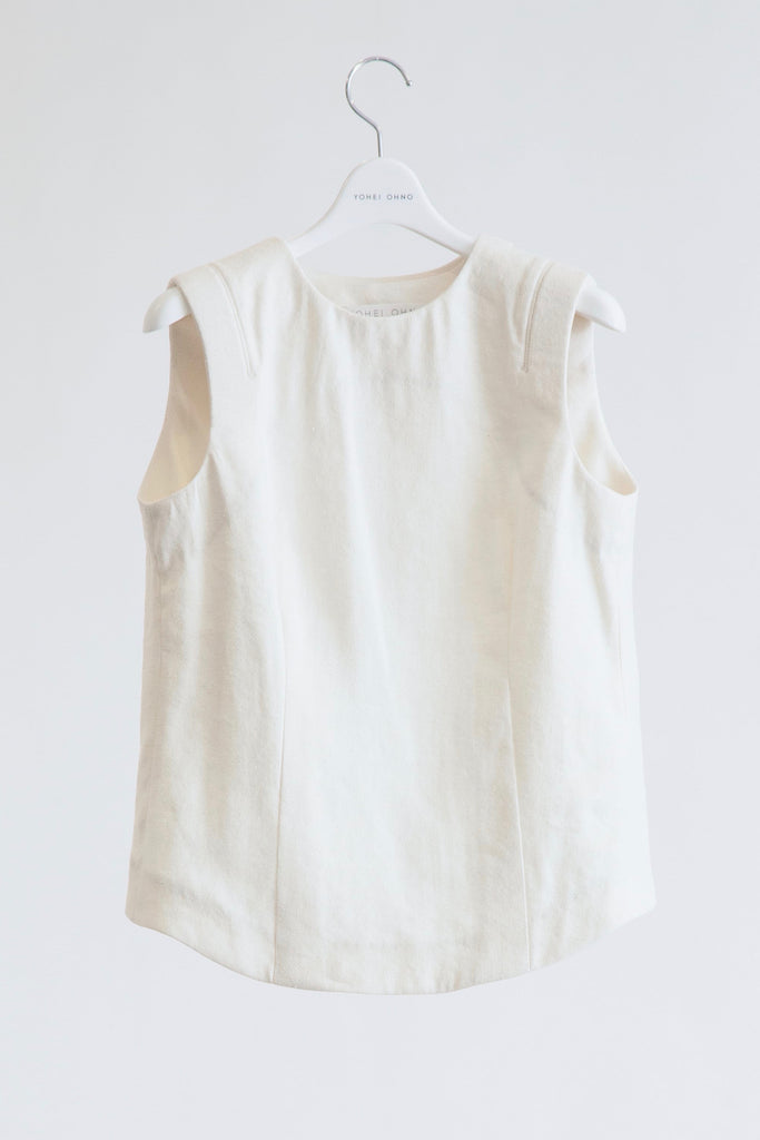 Back Open Sleeveless Top