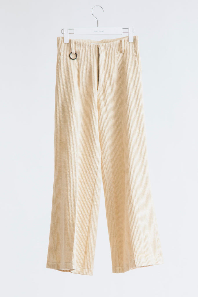 Semi Wide Trousers(Rassel)