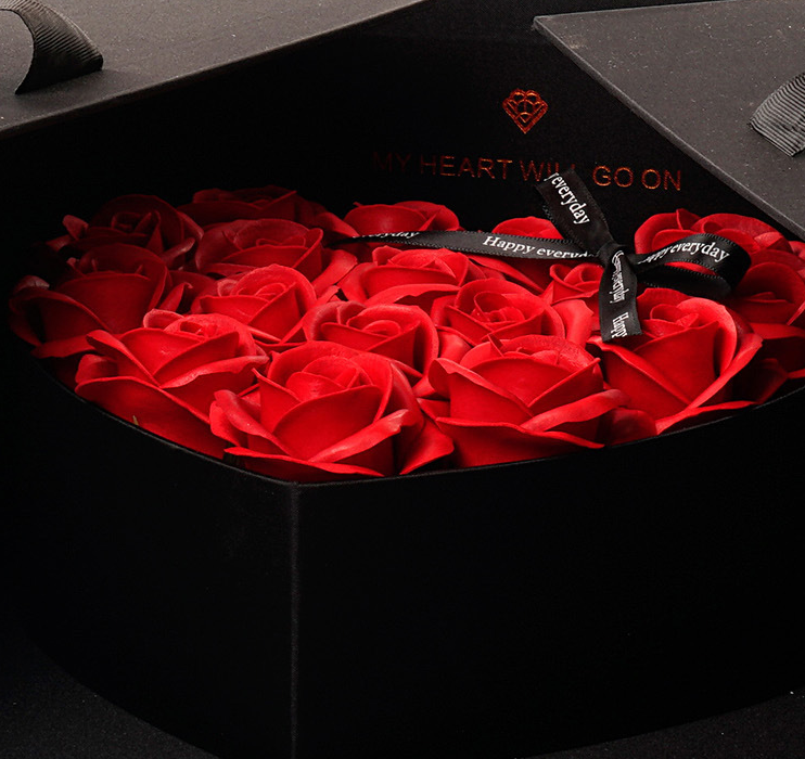 Signature Surprise Rose Flower Box - beyondtheinfinity.com