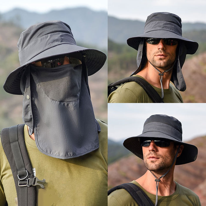 1x - Ultimate 3-in-1 Fishing Hat