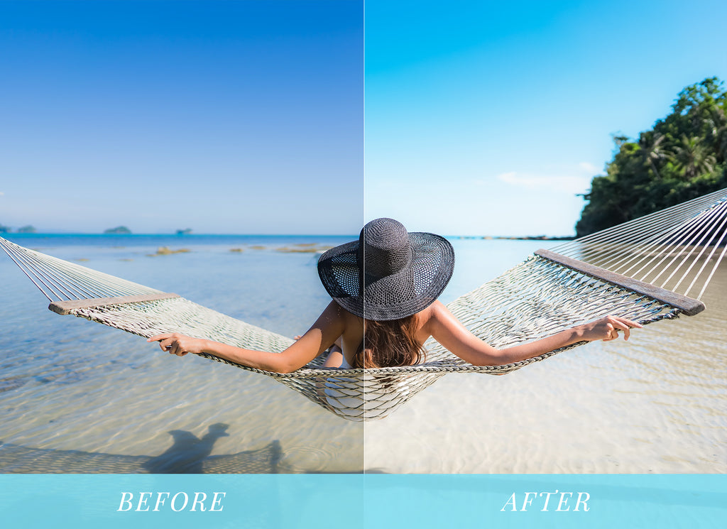 Summer vibes lightroom presets