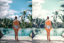 Load image into Gallery viewer, Tropical lightroom presets , summer