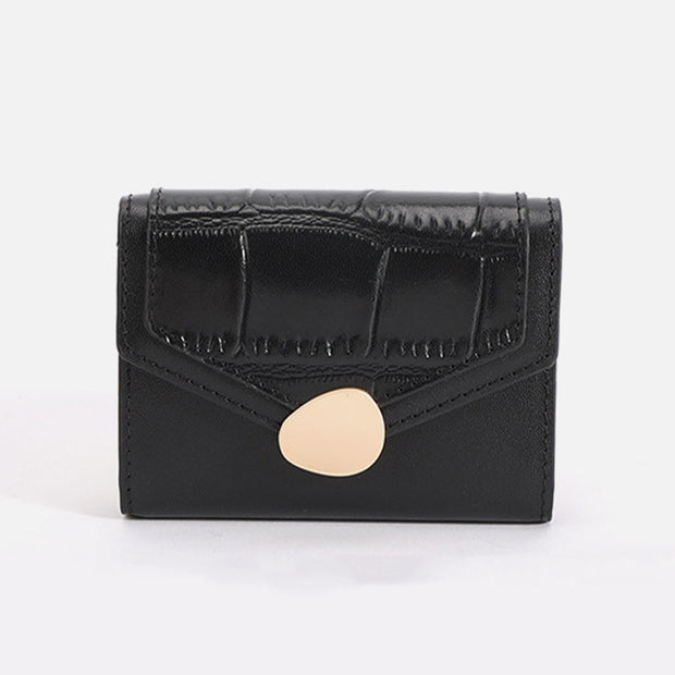 Casual Multi-Slot Genuine Leather Wallet