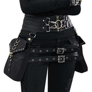 Steampunk Punk Vintage Waist Bag