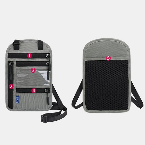 Waterproof RFID Blaocking Passport Holder Travel Bag