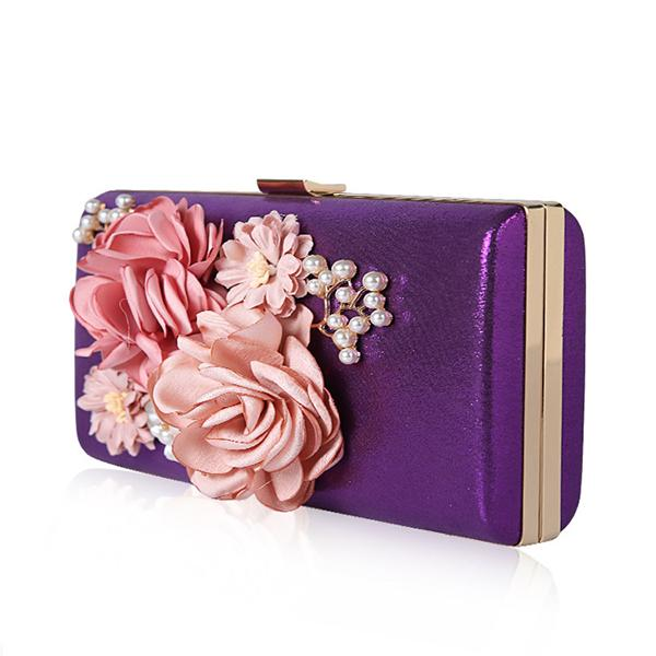 Floral Evening Clutch Bag