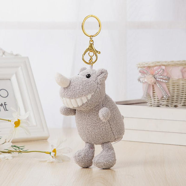 Soft Cute Animal Bag Charms Pendant