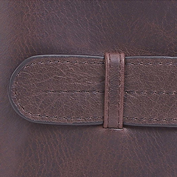 Vintage Genuine Leather Large Capacity Wallet