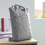 Men's Casual Waterproof Multi-Pocket Backpack