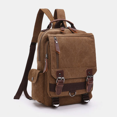 Vintage Outdoor Travel Shoulder Backpack