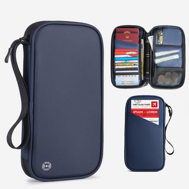 Multifunctional Large Capacity Waterproof Passport Holder
