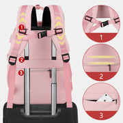 Large Capacity Waterproof USB Charging Backpack