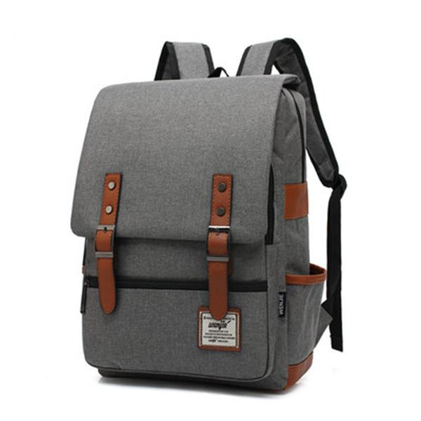 Unisex Large Capacity Anti-theft School Backpack