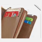 Multifunctional Multi-slot Vintage Wallet