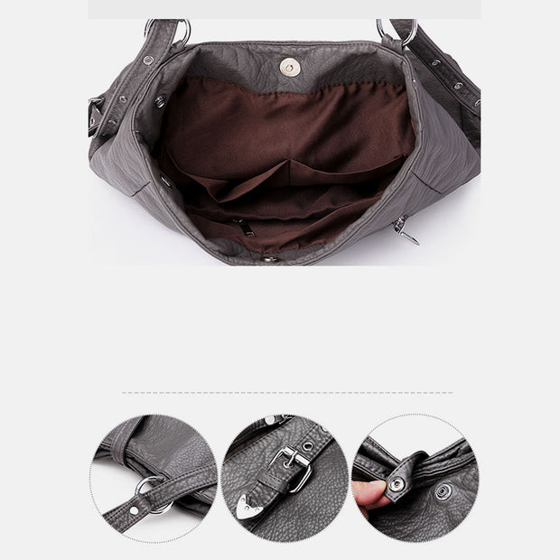 Large Capacity Multifunctional Crossbody Bag Backpack