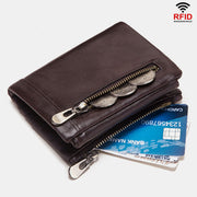 RFID Multifunctional Leather Wallet